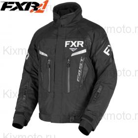Куртка FXR Team FX - Black/White мод. 2019