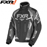 Куртка FXR Team FX - Black/Charcoal мод. 2019