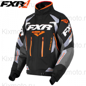 Куртка FXR Adrenaline - Black/Orange мод. 2018