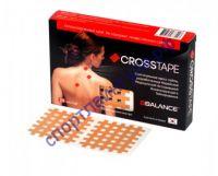 Кросс тейпы BB CROSS TAPE™ 4,9 см x 5,2 см (размер С) бежевый
