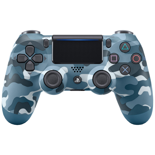 Геймпад Sony Dualshock 4 (ver.2) Blue Camouflage (PS4) CUH-ZCT2E
