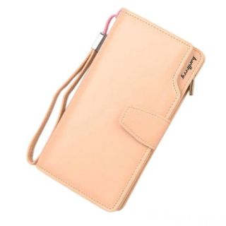 Кошелёк Woman Baellerry Wallet PU Clutch Bag, Бежевый