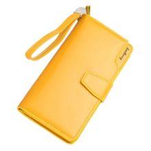 Кошелёк Woman Baellerry Wallet PU Clutch Bag, Жёлтый