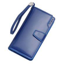 Кошелёк Woman Baellerry Wallet PU Clutch Bag, Синий