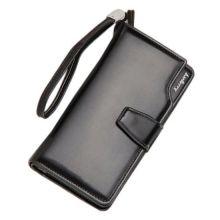 Кошелёк Woman Baellerry Wallet PU Clutch Bag, Чёрный