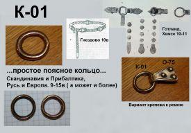 K-01. Универсальное 9-15 век