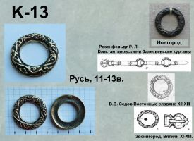 K-13. Русь 11-13 век