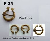 F-35. Русь 11-14 век
