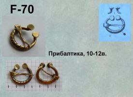 F-70. Прибалтика 10-12 век