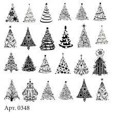 Слайдер-дизайн для ногтей № 0348