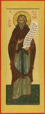 Икона Григорий Пельшемский преподобный