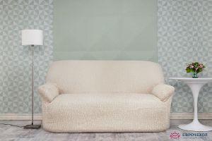 Чехол на 3х-местный диван без оборки (1шт.) ,шампань