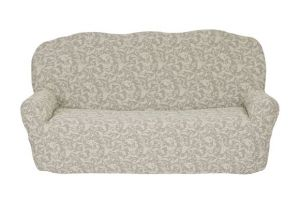 Чехол на 3х-местный диван без оборки , KAR 013-02 Krem