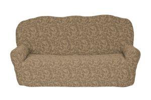 Чехол на 3х-местный диван без оборки , KAR 013-03 Bej