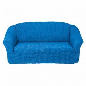 Чехол на 3х-местный диван без оборки,Бирюзовый