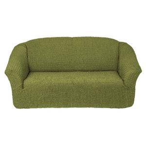Чехол на 3х-местный диван без оборки,молодая зелень