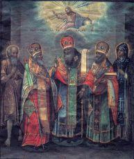 Икона Гурий Казанский преподобный