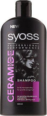 Syoss Zəif və kövrək saçlar üçün möhkəmləndirici şampun 500 ML