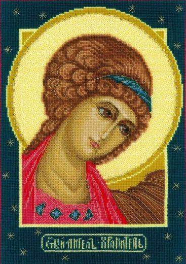 Набор для вышивания крестом Ангел Хранитель №1674 фирма Риолис