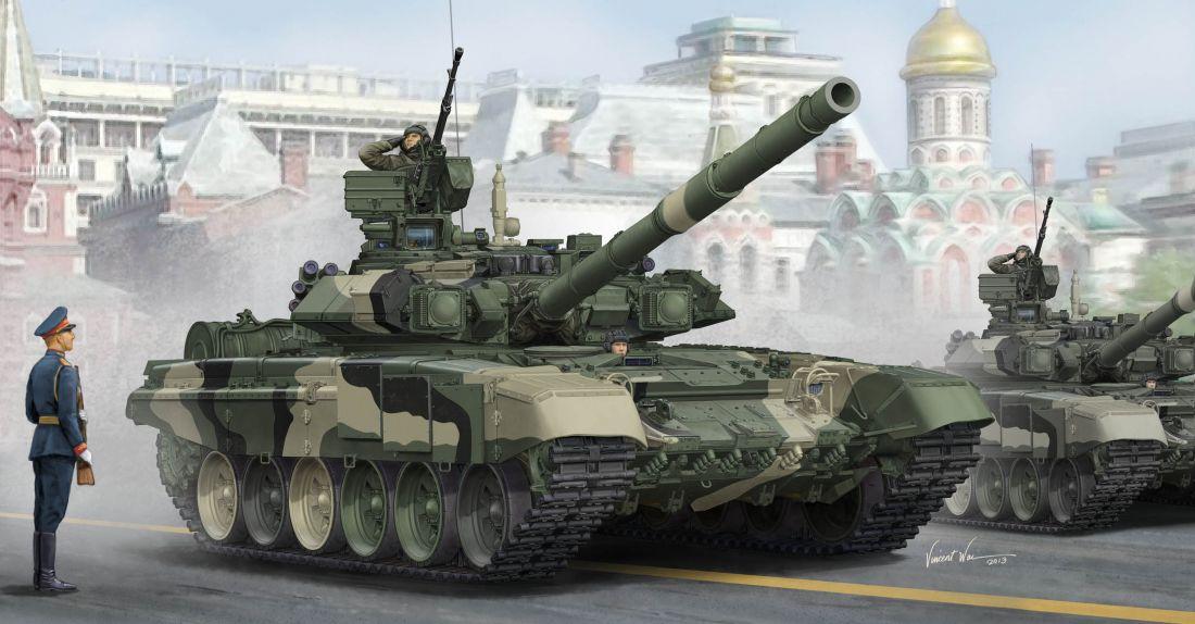 Танк  Т-90А (1:35)