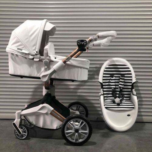 Коляска-трансформер Hot mom 360 Белый