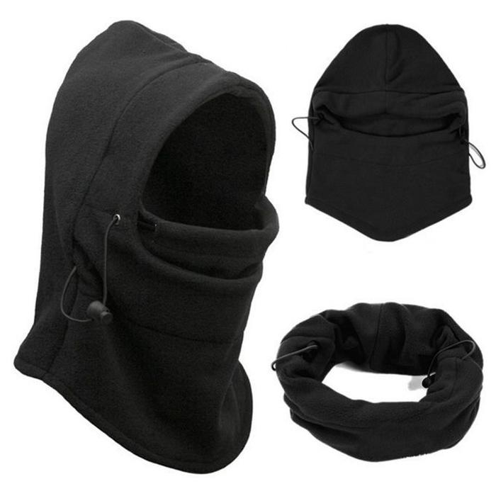 Ветрозащитная маска Балаклава с капюшоном