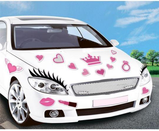 Магниты Реснички для девичника (автомобильные)