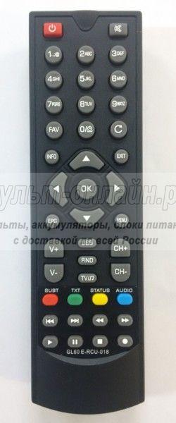 Globo GL60, E-RCU-018 DVB-T2