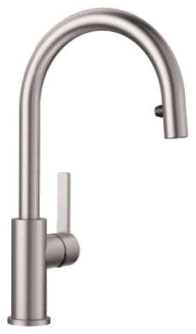 Cмеситель для кухни (мойки) Blanco Candor-S (нержавеющая сталь)