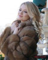 Шуба из куницы эксклюзив Москва цена модели фото