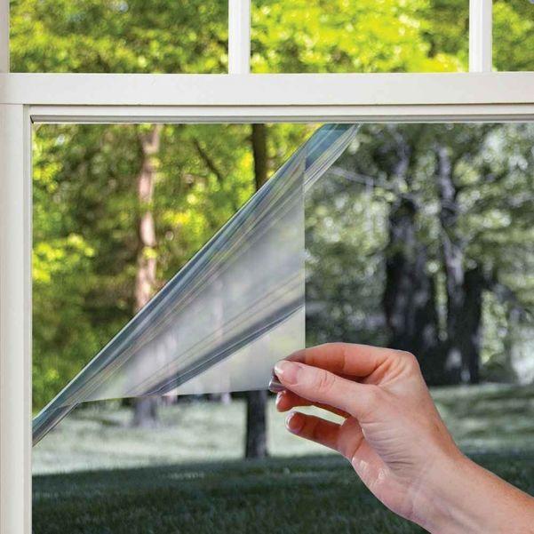 Пленка солнцезащитная зеркальная для окон