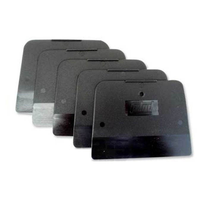 Colad Набор шпателей пластмассовых 5 шт., черный, мягкий