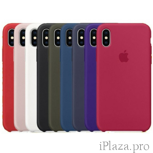 Silicone Case iPhone X/Xs/Xs Max