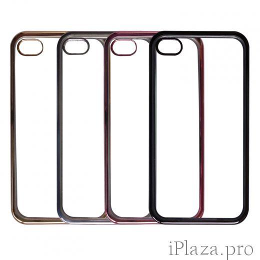 Чехлы Oucase с глянцевой окантовкой iPhone 7/8/X/Xs/Xs Max/Xr/11/11 Pro/11 Pro Max