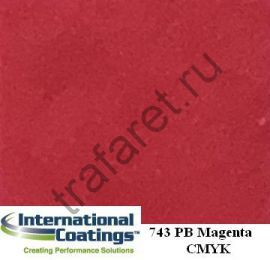 Краска пластизолевая 743 Pro-Brite Magenta (3,8 л.)