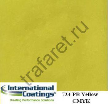 Краска пластизолевая 724 Pro-Brite Yellow (3,8 л.)