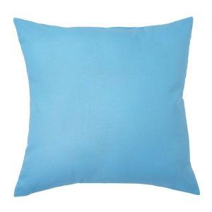 Подушка декоративная 40*40 цв. голубой,100% хл, поплин   2996145