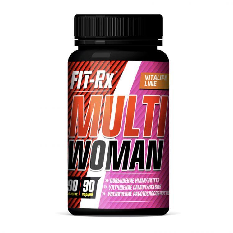 Multi Woman от Fit-RX, 90 таб_