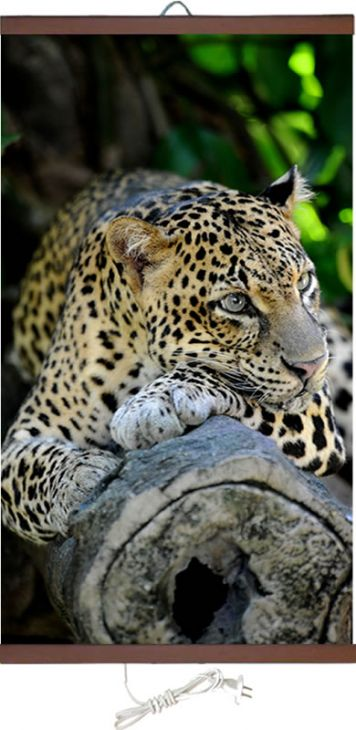Обогреватель картина Леопард 400 Вт