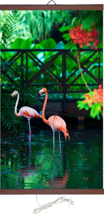 Обогреватель картина Розовый Фламинго 400 Вт