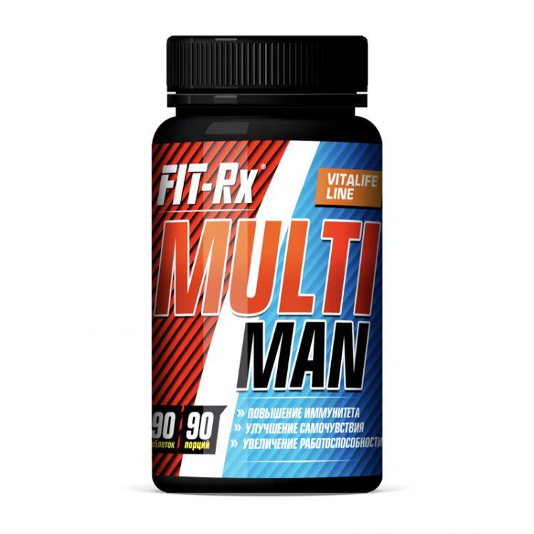 Multi Man от Fit-RX, 90 таб_
