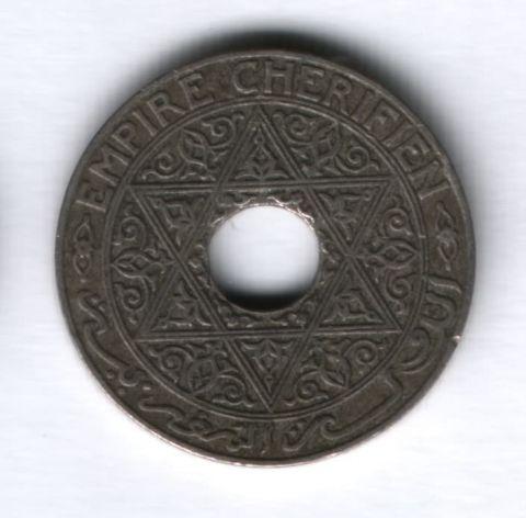 25 сантимов 1921 года Марокко XF