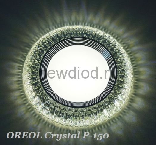 Точечный Светильник OREOL Crystal Rlp P150 4+6Вт 4000K 127/80mm Белый