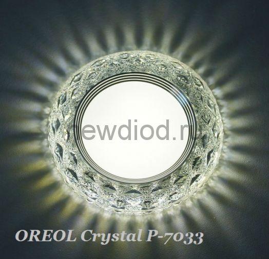 Точечный Светильник OREOL Crystal Rlp P7033 4+6Вт 4000K 122/80mm Белый
