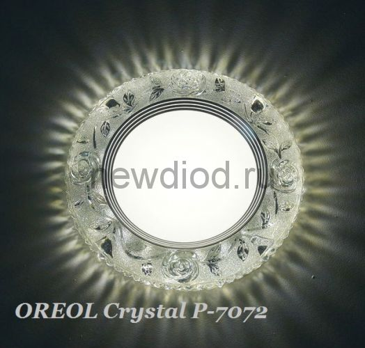 Точечный Светильник OREOL Crystal Rlp P7072 4+6Вт 4000K 122/80mm Белый