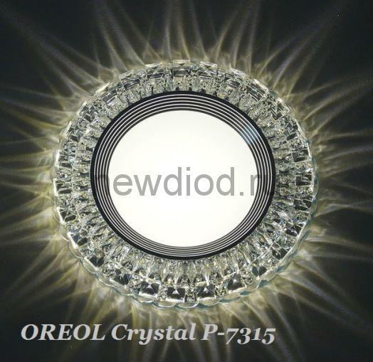 Точечный Светильник OREOL Crystal Rlp P7315 4+6Вт 4000K 130/80mm Белый