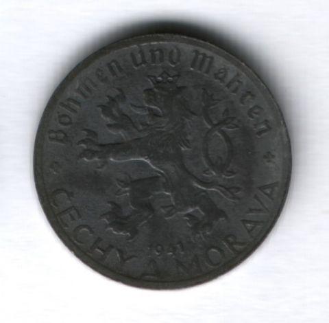 20 геллеров 1941 года Богемия и Моравия (Чехия)