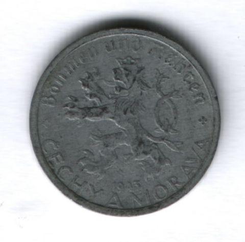 20 геллеров 1943 года Богемия и Моравия (Чехия)