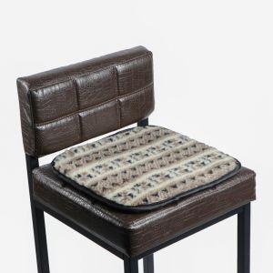 Накидка на сиденье двухсторонняя, тип 2, овчина 65%, 40 х 40 см