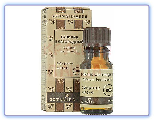 Эфирное масло Базилика благородного Botavikos